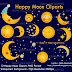 12 Happy Moon Cliparts PNG High Res.