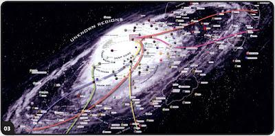 Nuova mappa galattica mostra posizioni e luminosità miliardi di stelle