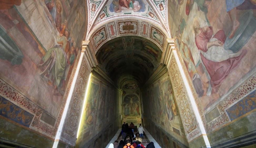 O santuário da escada santa em Roma