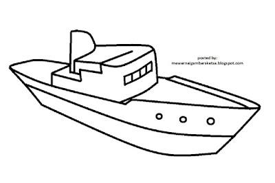 Mewarnai Gambar Kapal 9 Karena Mereka Adalah Masa Depan