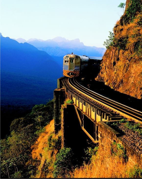 Viagem de trem em Curitiba