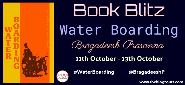 Book Blitz: WATER BOARDING BY BRAGADEESH PRASANNA