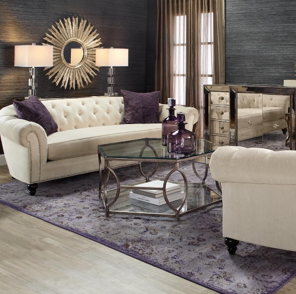 Http://www.lush Fab Glam.com/2015/. Grey Living Room Inspiration Look 2.