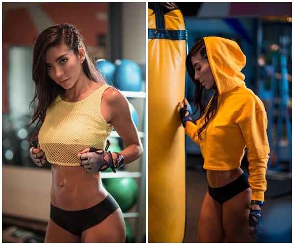 Julie-Pauline-Rodriguez, modelo, fitness, tips, alimentación, saludable,