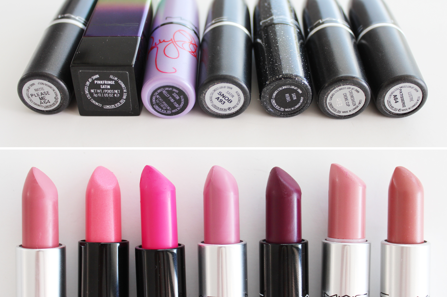 MAC | Lipstick Collection + Swatches - CassandraMyee