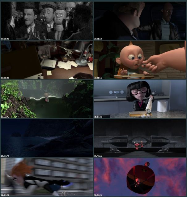 The Incredibles (2004) BluRay 720p BRRip ~ Mediafire Links