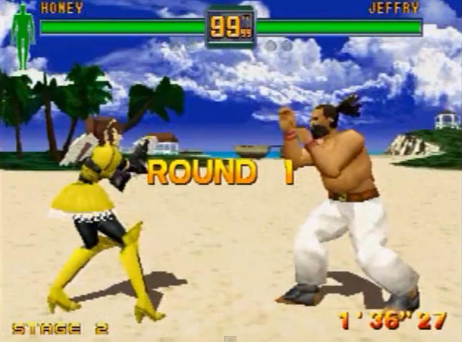 Así era Fighters Megamix, el último gran juego de lucha 3D