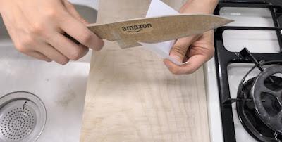 Cómo hacer un cuchillo de cartón afilado