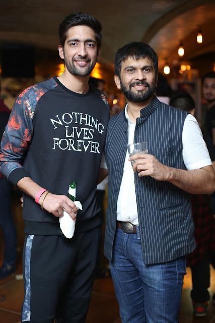 (L-R) Nimesh Chaudhary, Ashish Parikh