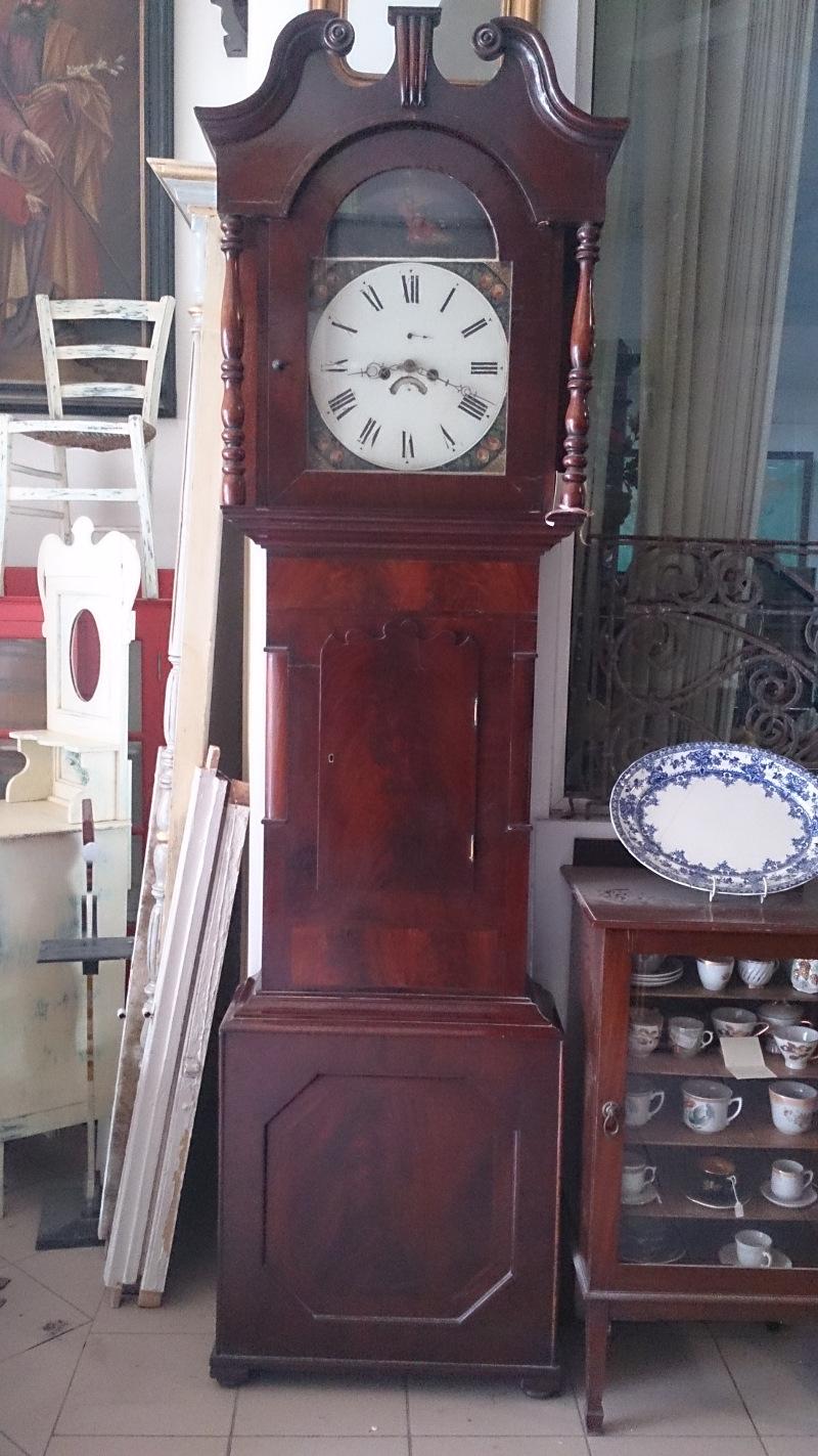 Victorian Mahogany Grandfather Clock Price Eur 2850