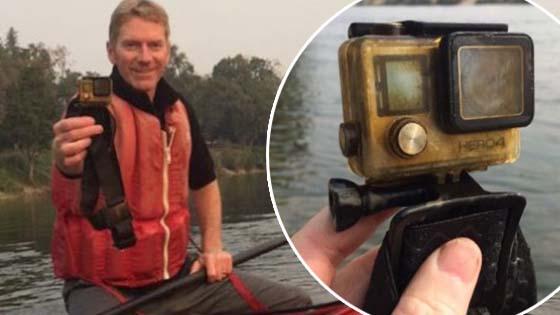 Lelaki Temui GoPro Di Sungai Kongsi Gambar Untuk Mencari Pemilik GoPro Ini