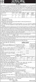 Municipal Corporation Chandigarh Safai Karmachari, Sweeper Jobs Recruitment 2017