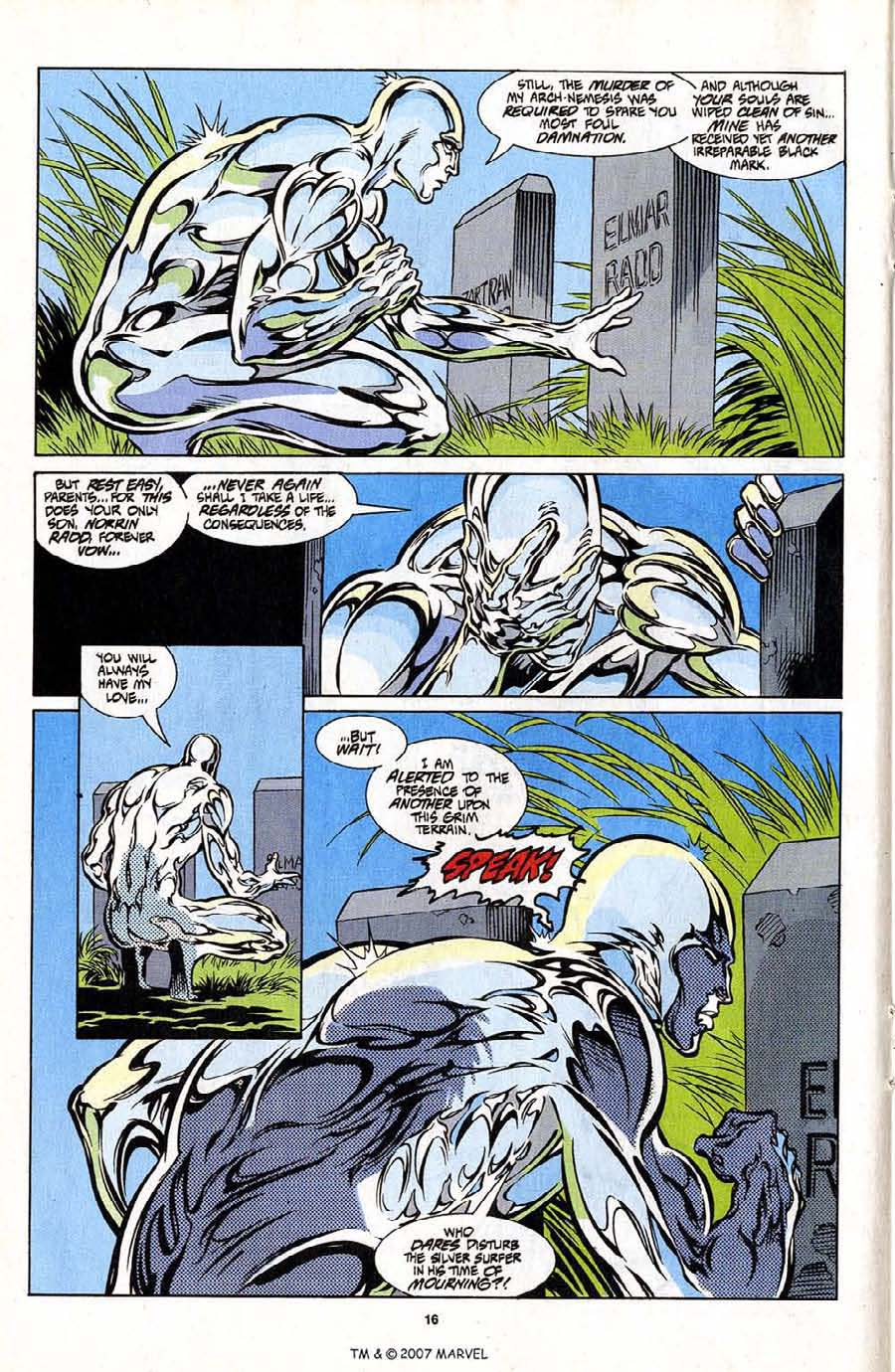 Silver Surfer (1987) Issue #101 #109 - English 18