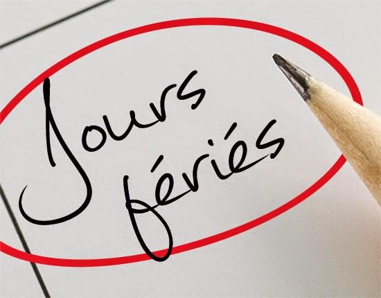 One Agf Bienvenue Sur Votre Blog Jours Feries Repos Et Code Du