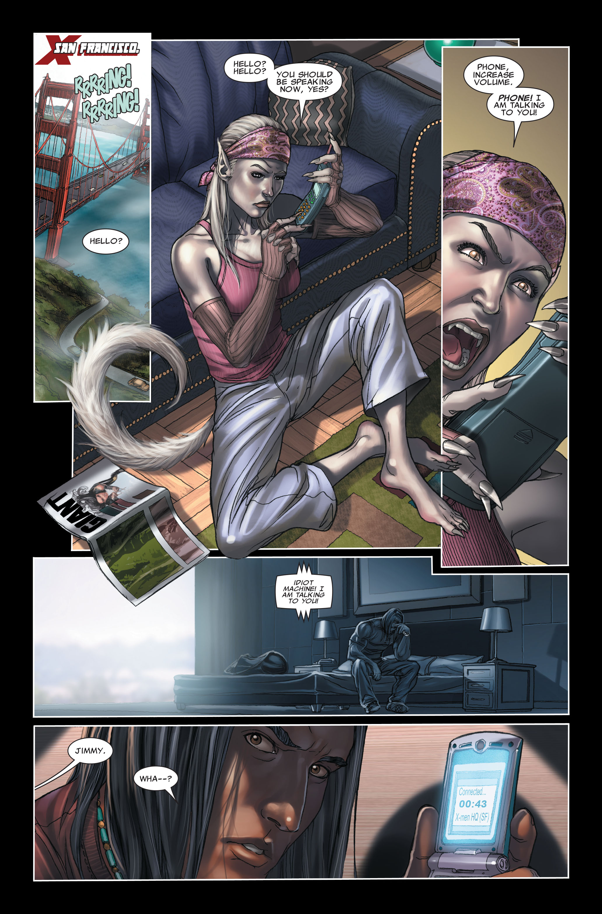 Read online X-Force (2008) comic -  Issue #7 - 3