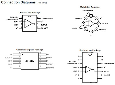 Electronics Technology: LM101A, LM201A, LM301A