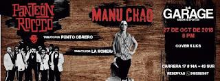 Tributo a MANU CHAO y PANTEÓN ROCOCO