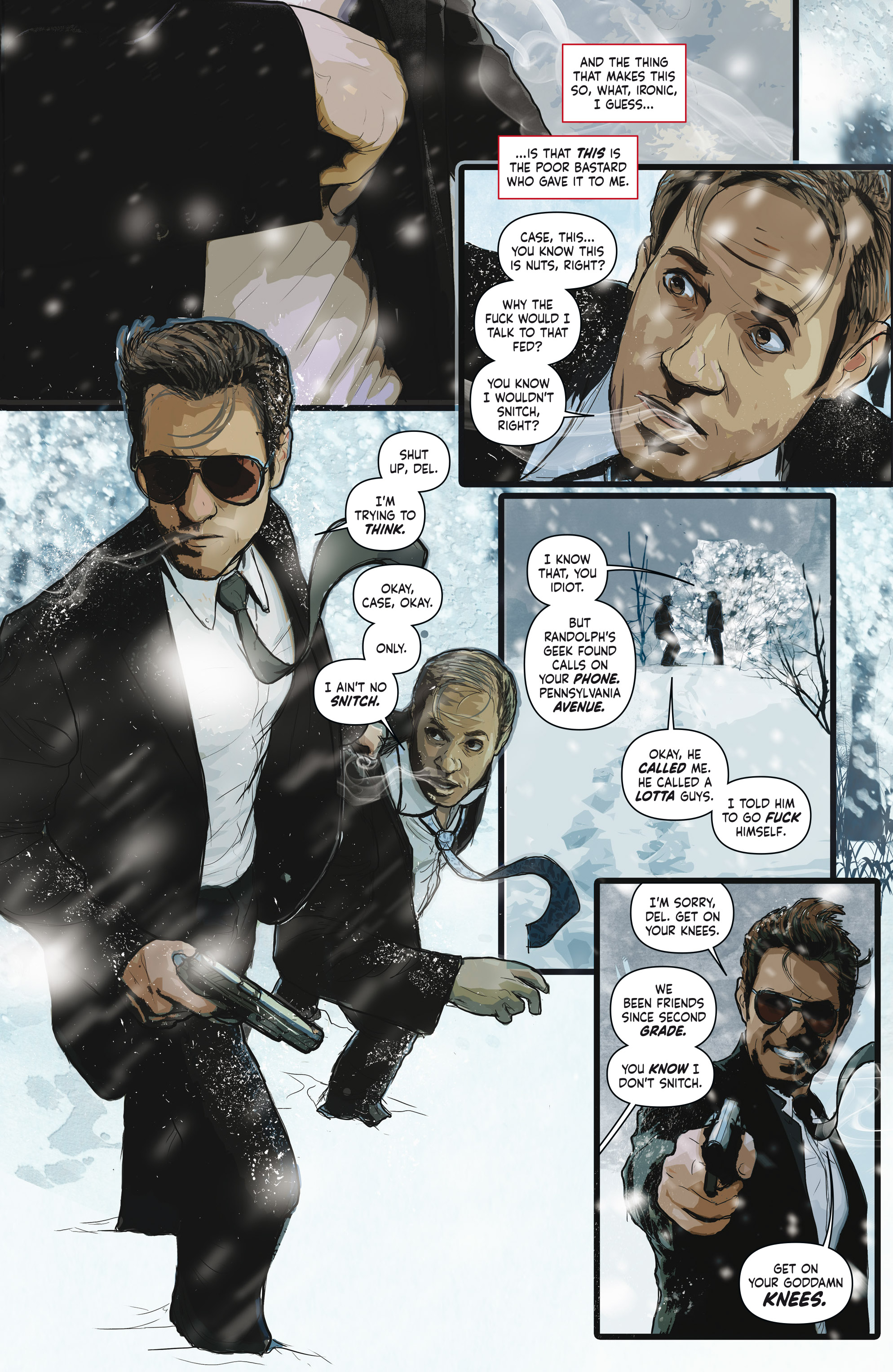 Read online Crosswind comic -  Issue #1 - 4