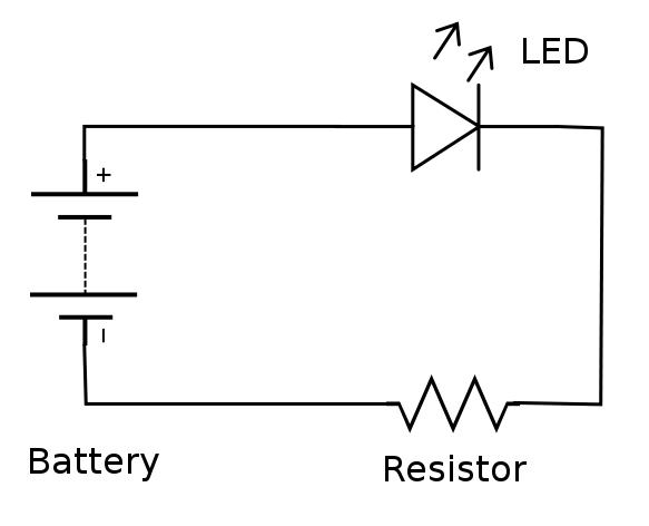 Led Circuit Symbol Led Light Emitting Diode Auto