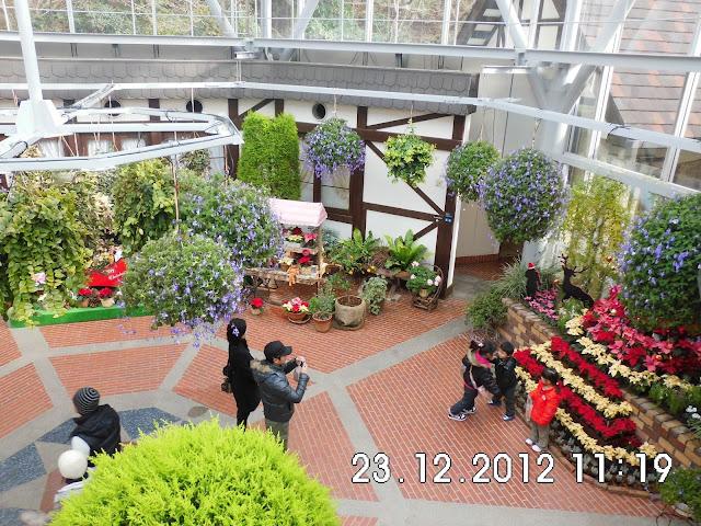 Taman Bunga dan Rumah Kaca di Herb Garden Kobe