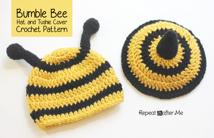 Free Crochet Bee Pattern - Grace and Yarn | 533x822