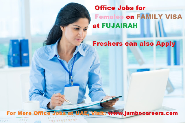 Office jobs for Husband visa holders in UAE Latest, Husband Visa holders job Salary