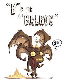 Cartoon Balrog
