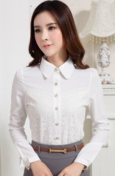 model pakaian kerja wanita lengan panjang terbaru modis