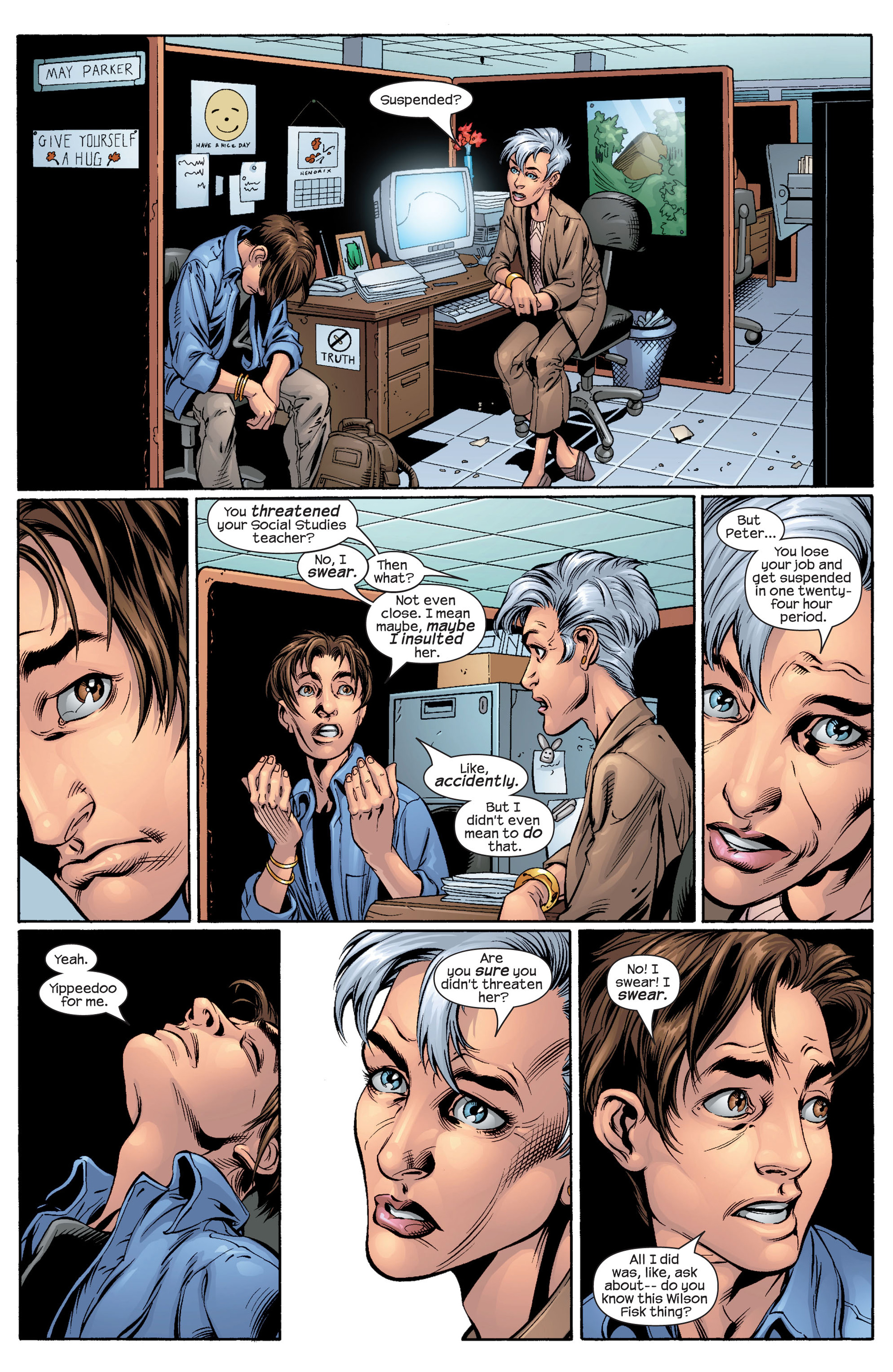 Read online Ultimate Spider-Man (2000) comic -  Issue #48 - 12