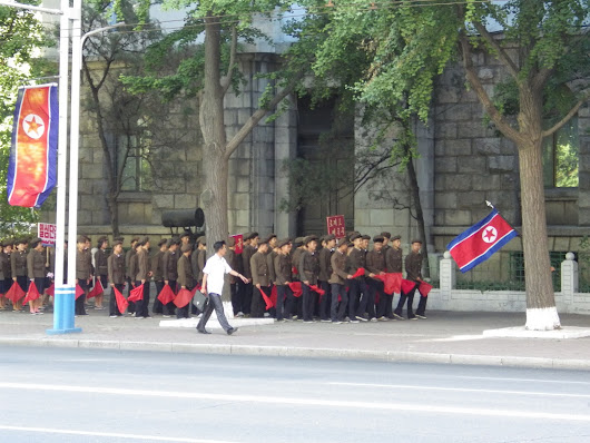 Far Flung Places: Pyongyang. Shopping, Communists and Beer.