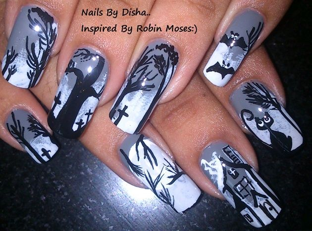 Create best halloween nail designs and nail polish tips romantic create halloween nail designs and nail polish tips prinsesfo Gallery