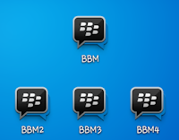 BBM Dual Mod Apk Terbaru