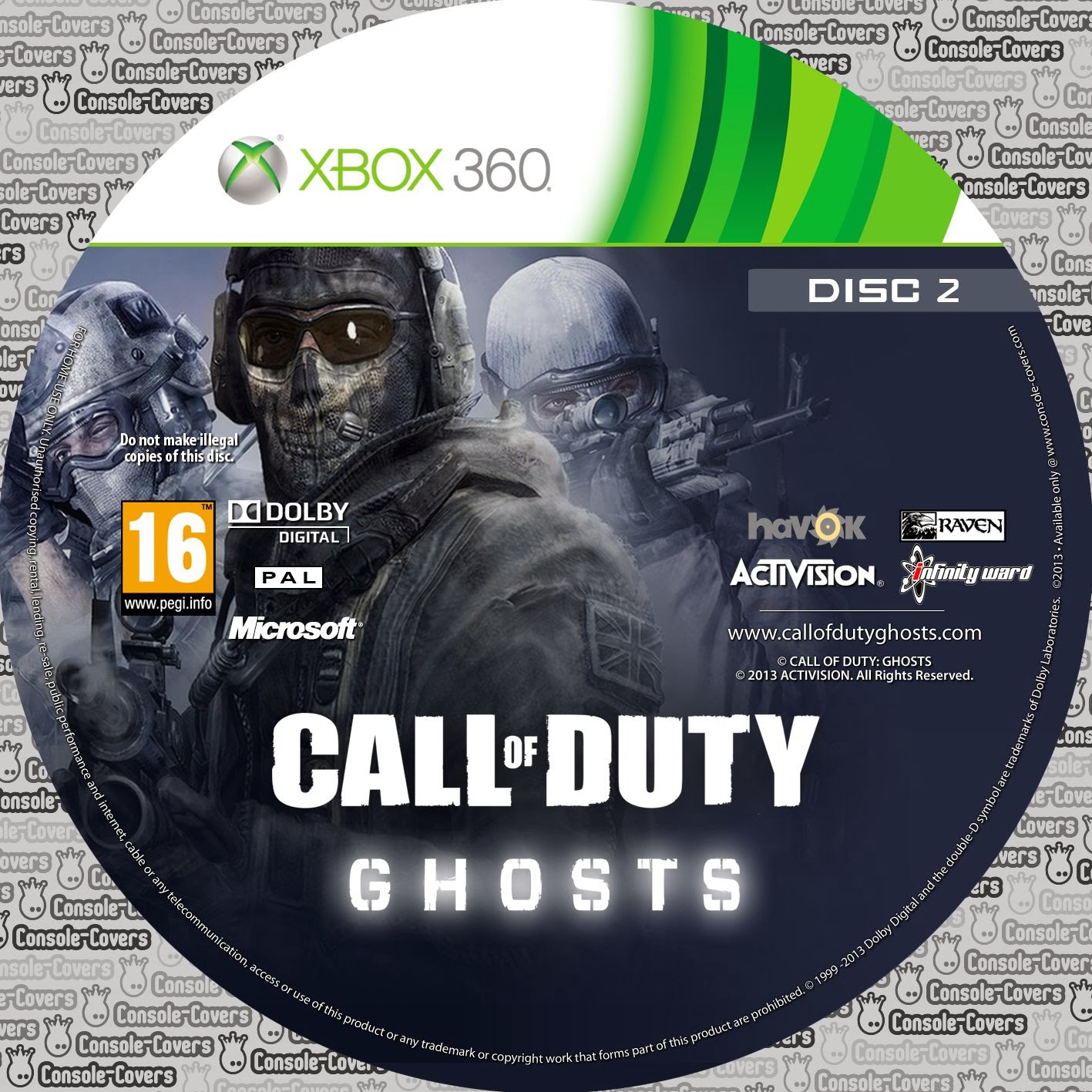 Call of duty ghosts 2 xbox 360 - La nintendo 3ds