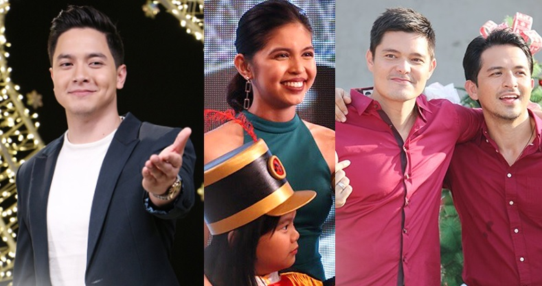 Top Kapuso artists Alden Richards, Maine Mendoza, Dingdong Dantes and Dennis Trillo star in Christmas Station ID.