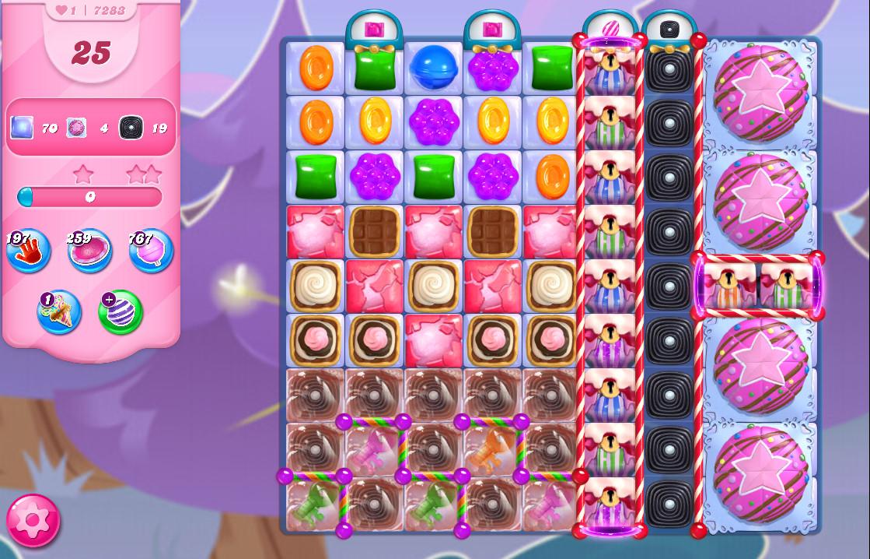Candy Crush Saga level 7283