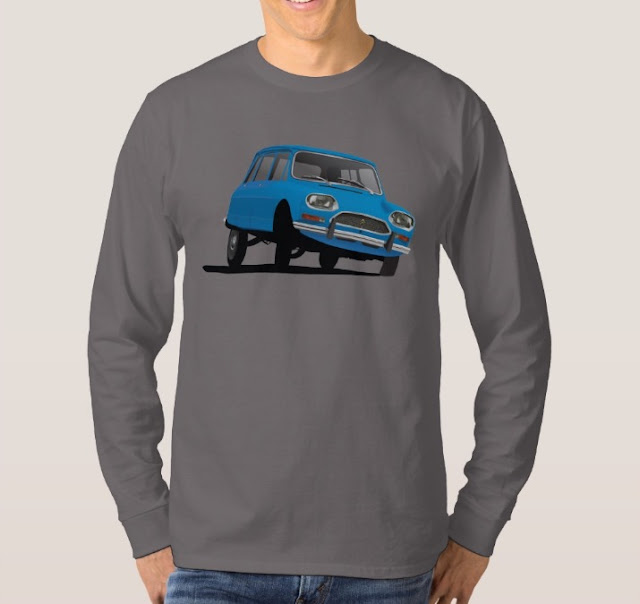 Citroën Ami 8 paita