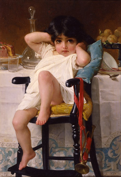 Emile Munier ~ pintor figurativo | mulheres