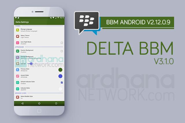 Delta BBM V3.1.0 - BBM ANdroid V2.12.0.9