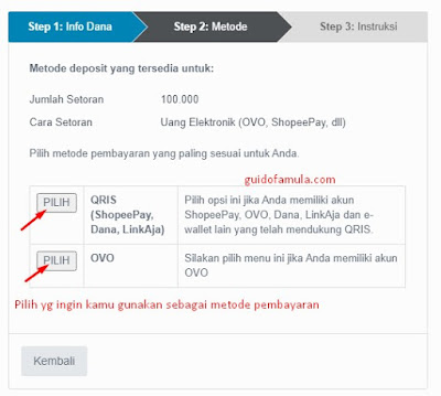 Cara deposit indodax lewat mandiri online