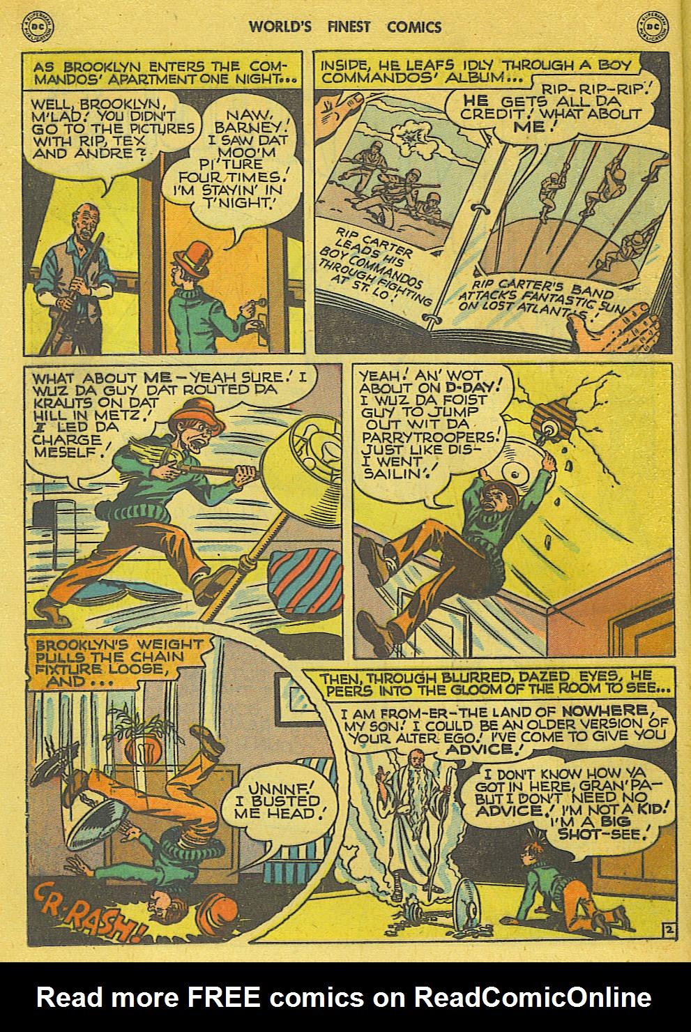 Read online World's Finest Comics comic -  Issue #34 - 28