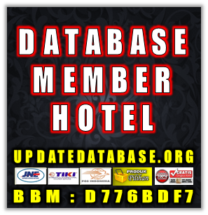 Jual Database Member Hotel