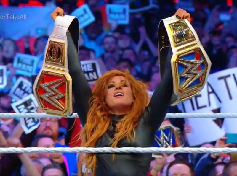WrestleMania 35: Becky Lynch se convirtió en campeona WWE
