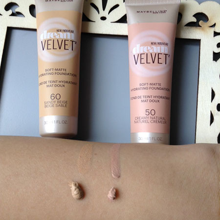 Maybelline Dream Velvet Foundation  ~ #Review