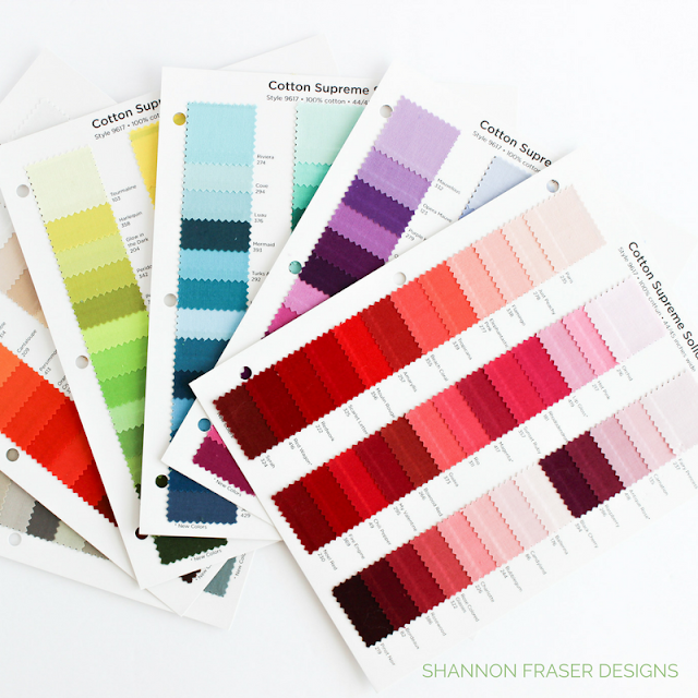 RJR Fabrics Cotton Supreme Solids | What Shade Are You | Plus Infinity Quilt | Modern Quilt Pattern | Shannon Fraser Designs |