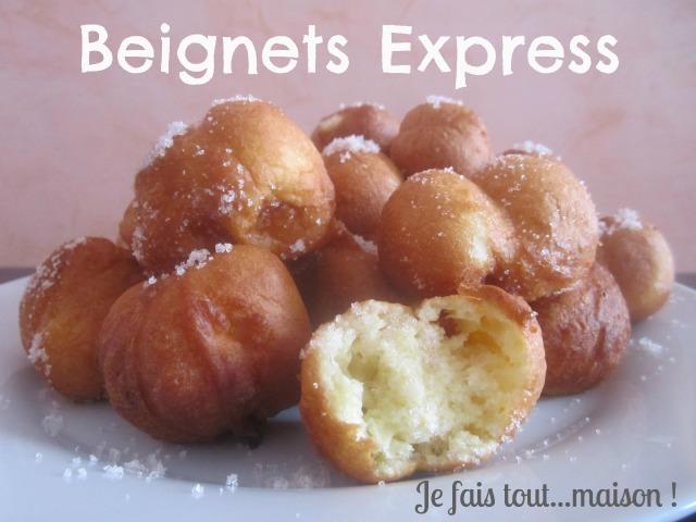 Recette express beignets à cuillère