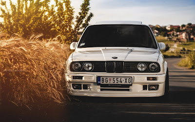 bmw 325i e30 widescreen hd wallpaper