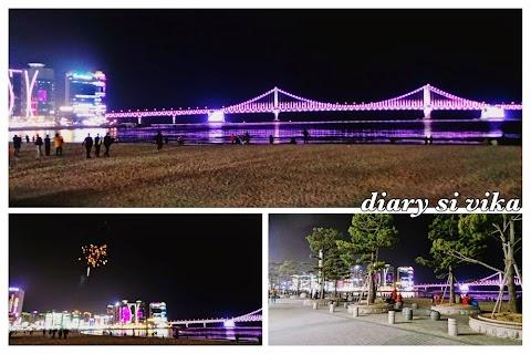 Wisata Busan : Gwangalli Beach, Ops Bakery dan Haeundae Market (Day 2)