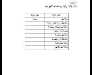 23 - كراس العطلة رياضيات سنة ثالثة