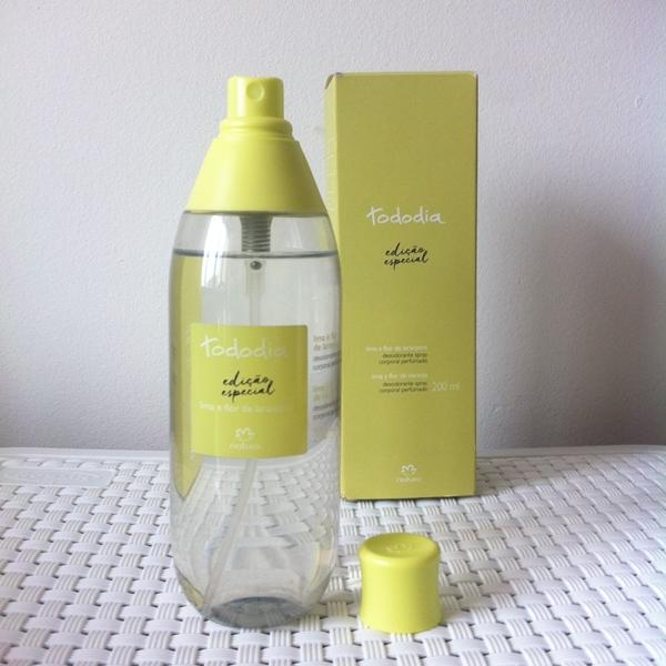 Resenha: Spray Corporal Lima e Flor de Laranjeira Natura Tododia