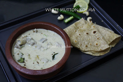 Mutton korma mutton white Kuruma recipes Lamb recipes mutton vellai Kuruma Kerala style mutton curry